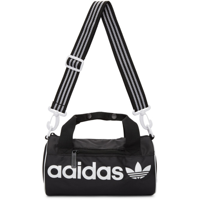 adidas Originals Black Small Santiago Duffle Bag