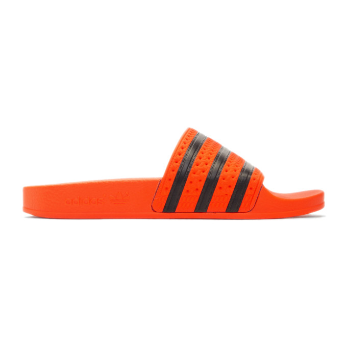 adidas Originals Orange Adilette Slides