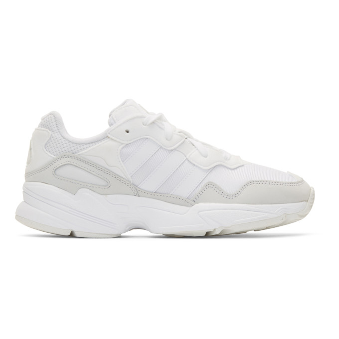 adidas Originals White Yung-96 Sneakers