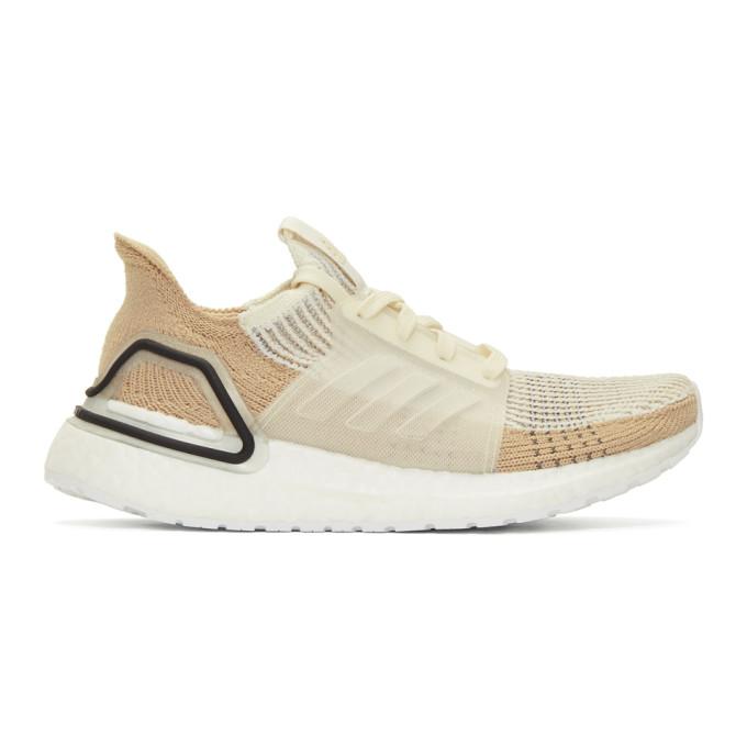 Image of adidas Originals Beige Ultraboost 19W Sneakers