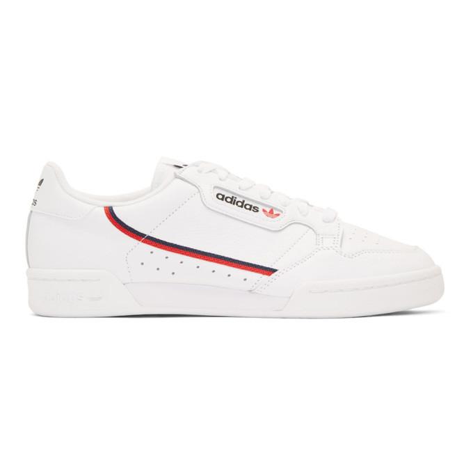 adidas Originals ホワイト コンチネンタル 80 スニーカー
