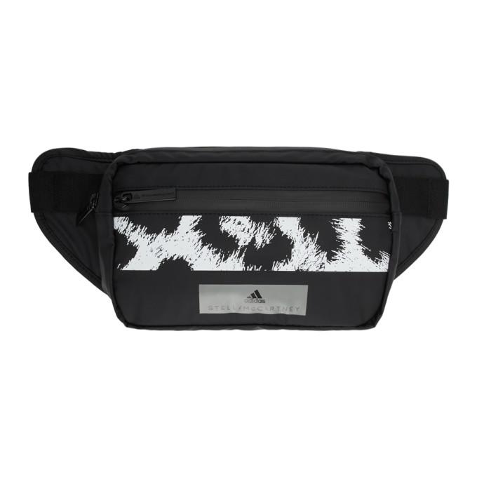 adidas by Stella McCartney Black & White Logo Bum Bag