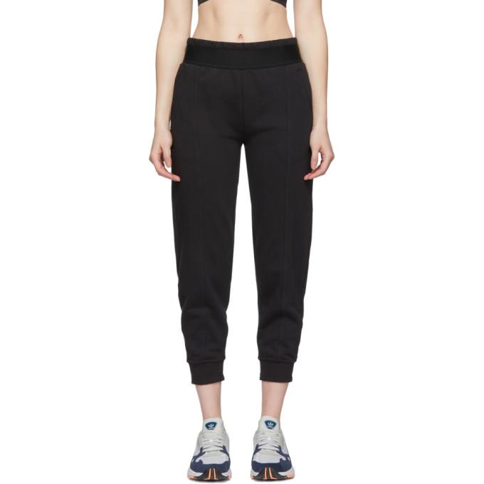 Image of adidas by Stella McCartney Black Essentials Lounge Pants