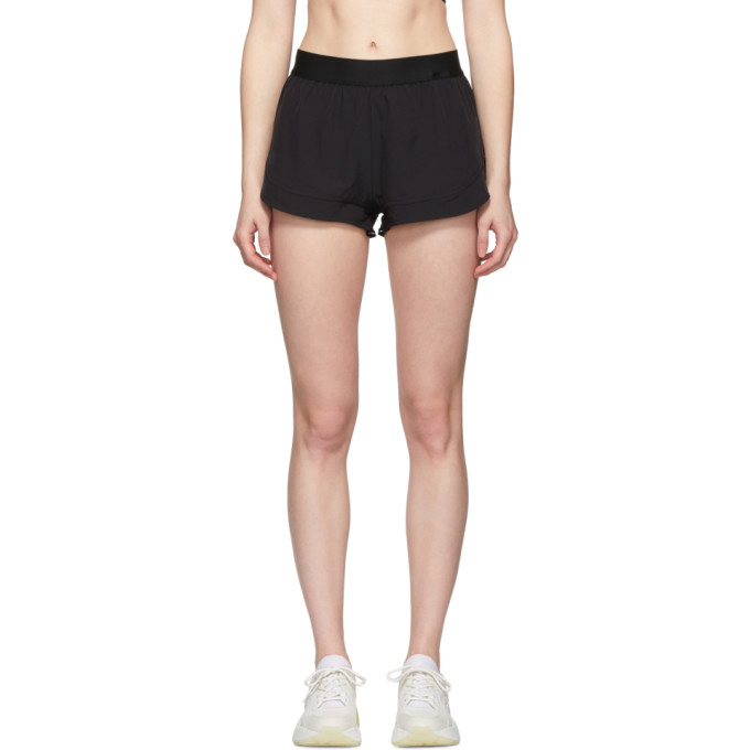 Image of adidas by Stella McCartney Black Performance Essentials Shorts