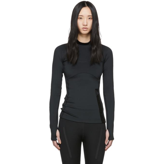 Image of adidas by Stella McCartney Black Run T-Shirt
