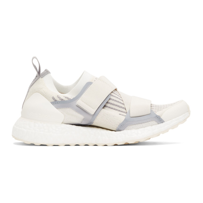 adidas by Stella McCartney White & Grey UltraBoost X S Sneakers