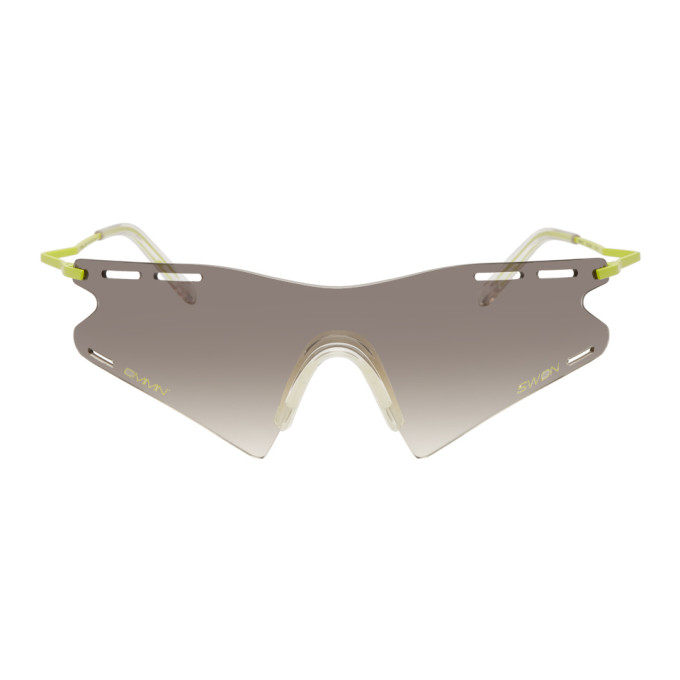 Tate Swdn Grey And Le Cmmn Ace Sunglasses Edition Monde Green yOPNw08nvm
