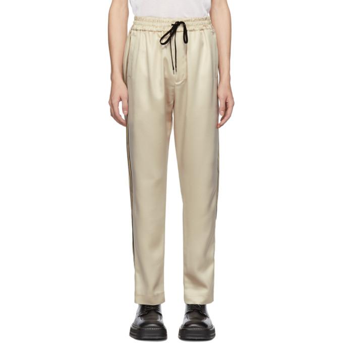 Image of CMMN SWDN Beige Buck Lounge Pants