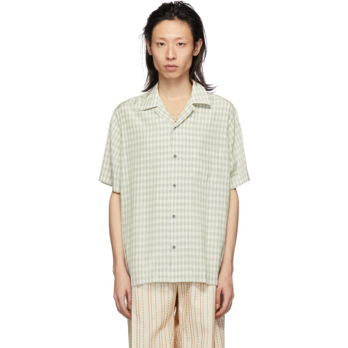 Image of CMMN SWDN Beige Check Duncan Shirt