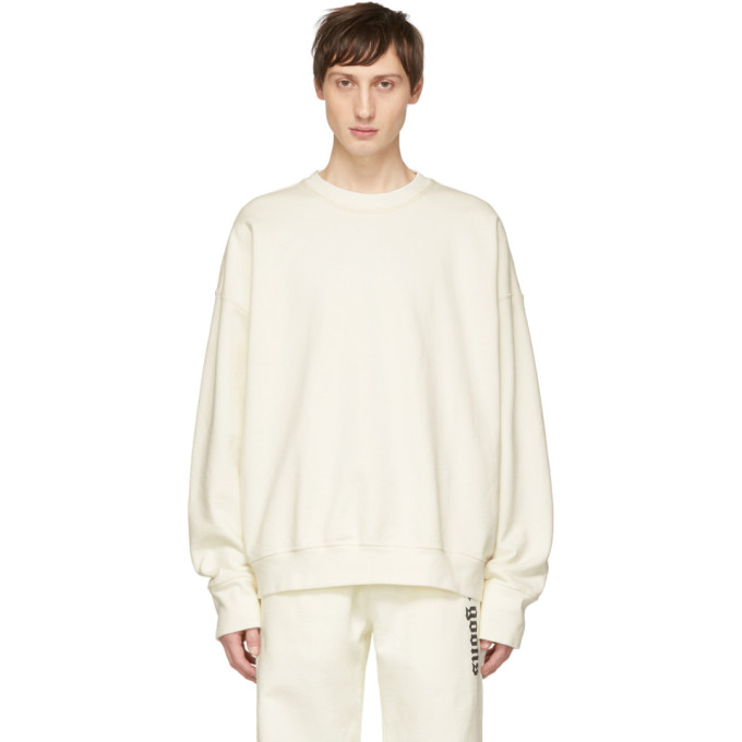 NOON GOONS Noon Goons Off-White Oversized Icon Sweatshirt in Offwhite