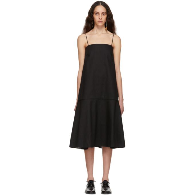 Totême Dresses TOTEME BLACK ANDORRA DRESS