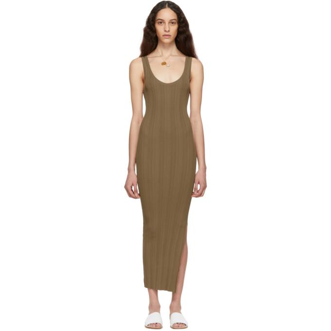 Totême Dresses TOTEME BROWN TRIVENTO DRESS
