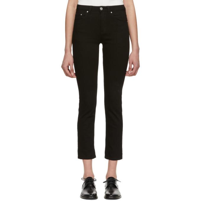 Totême Jeans TOTEME BLACK STRAIGHT JEANS