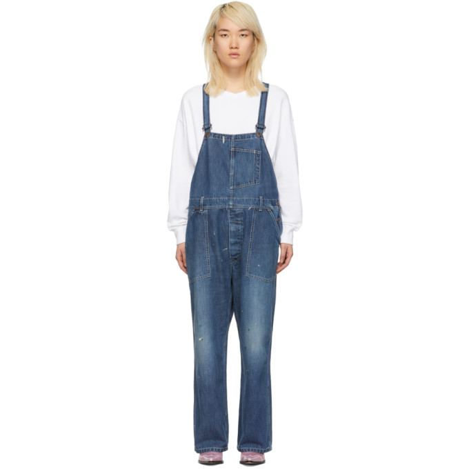 Image of Chimala Blue Denim Overalls
