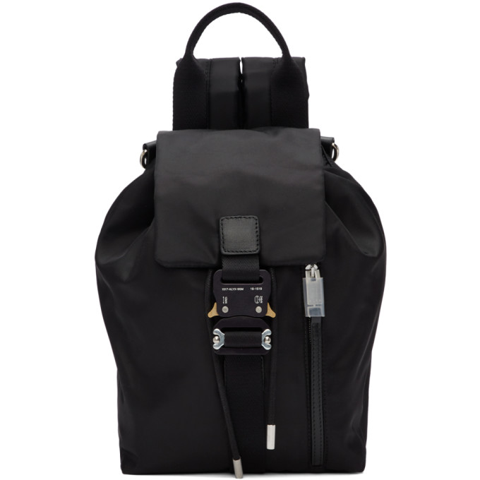 1017 ALYX 9SM Black Baby X Backpack 191776F04200201