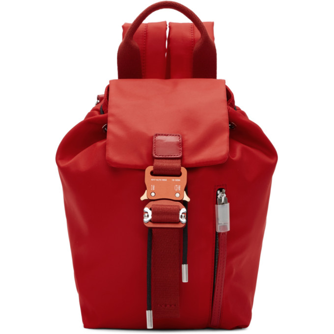 1017 ALYX 9SM Red Baby X Backpack 191776F04200301