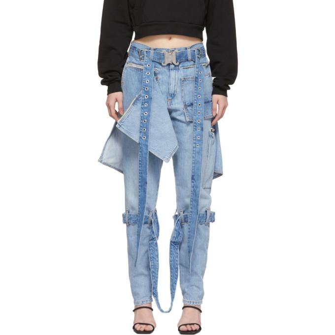 1017 ALYX 9SM Blue Punk Jeans