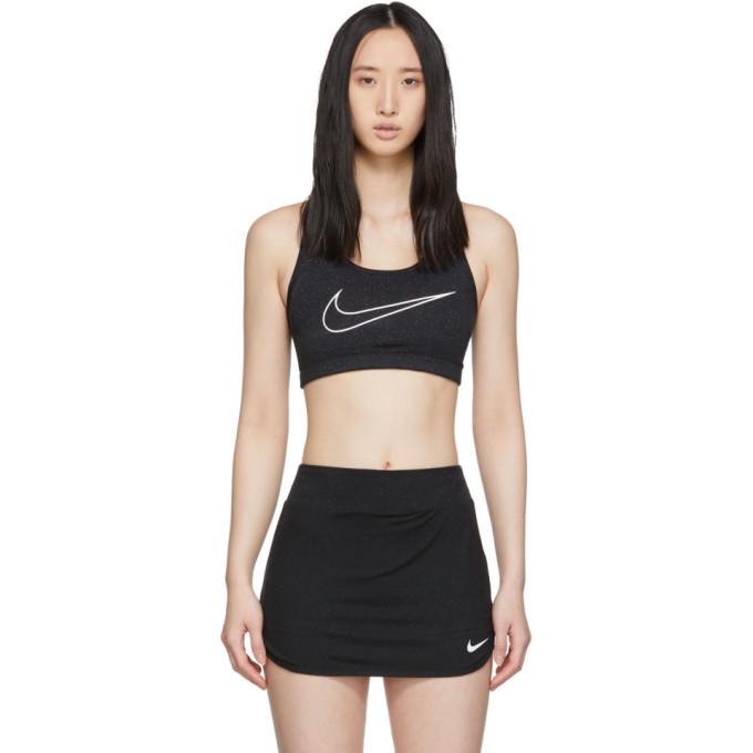 1017 ALYX 9SM Black Nike Edition Glitter Classic Sports Bra 191776F07300104