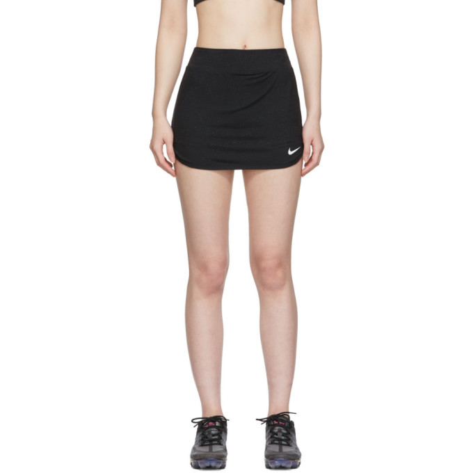 1017 ALYX 9SM Black Nike Edition Glitter Training Skirt 191776F09000105
