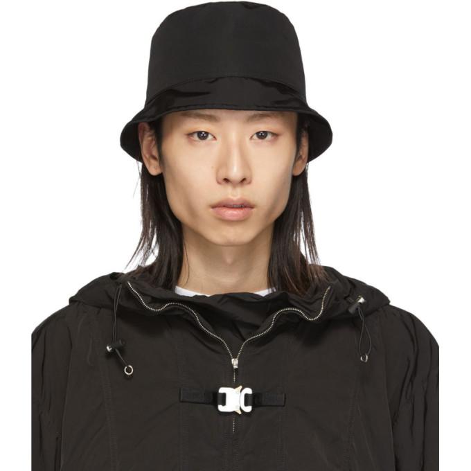 1017 ALYX 9SM Black Hunter Bucket Hat 191776M14000102