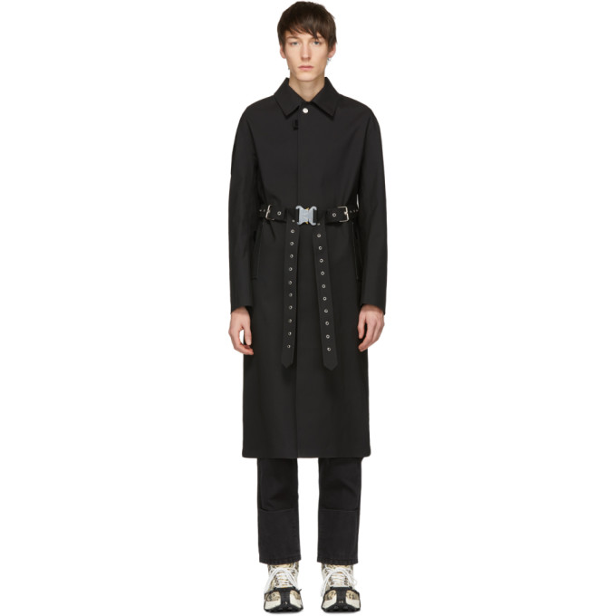 1017 ALYX 9SM Black Mackintosh Edition Formal Coat 191776M17600102