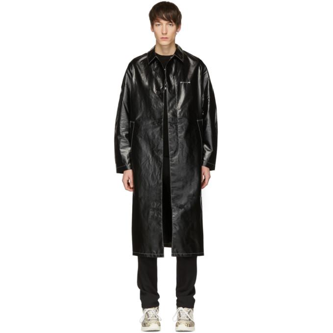 1017 ALYX 9SM Black Williams Classic Coat 191776M17600303