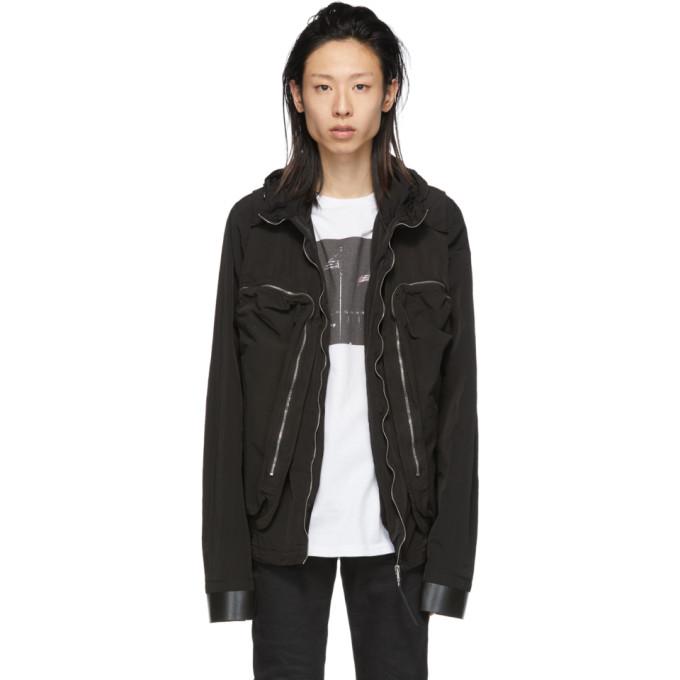 1017 ALYX 9SM Black Convertible Jacket 191776M18000104