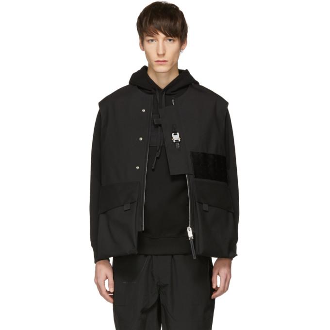 1017 ALYX 9SM Black Mackintosh Edition Vest 191776M18500103