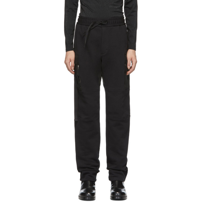 1017 ALYX 9SM Black Utility Lounge Pants 191776M18800106
