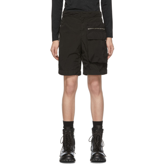 1017 ALYX 9SM Black Tactical Shorts 191776M19300103