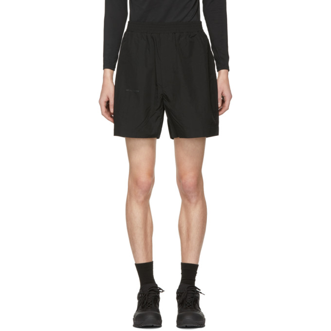 1017 ALYX 9SM Black Nylon Taylor Shorts 191776M19300204