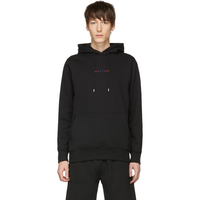 1017 ALYX 9SM Black Logo Collection Hoodie