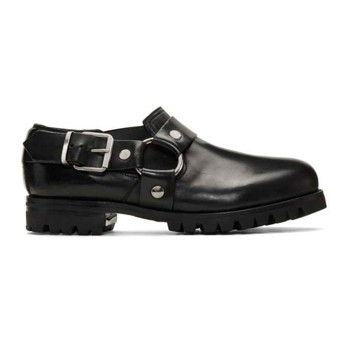1017 ALYX 9SM Black Chef Daddy Loafers 191776M23100206
