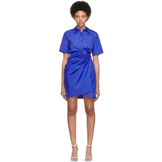 f0c8780351a93f Ports 1961 Blue Short Sleeve Dress 191780F05200201