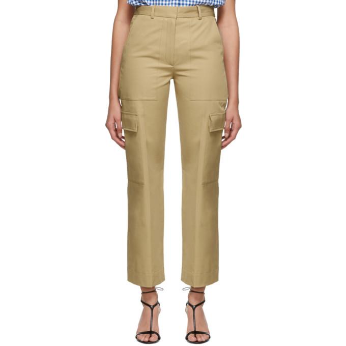 Ports 1961 Pantalon ample beige Long