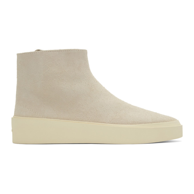 Fear of God Grey Suede Tear Away Moc Boots