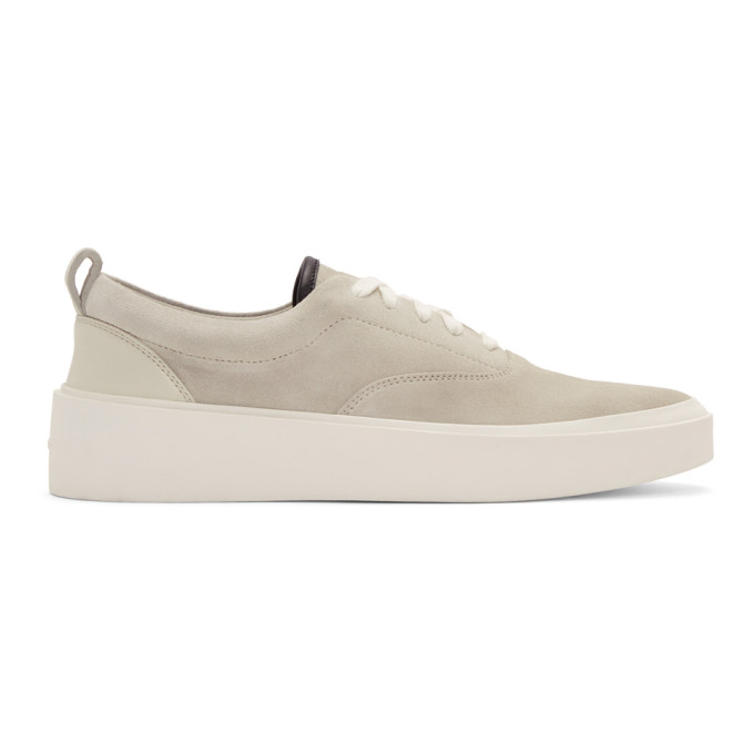 Fear of God Grey Suede Sneakers
