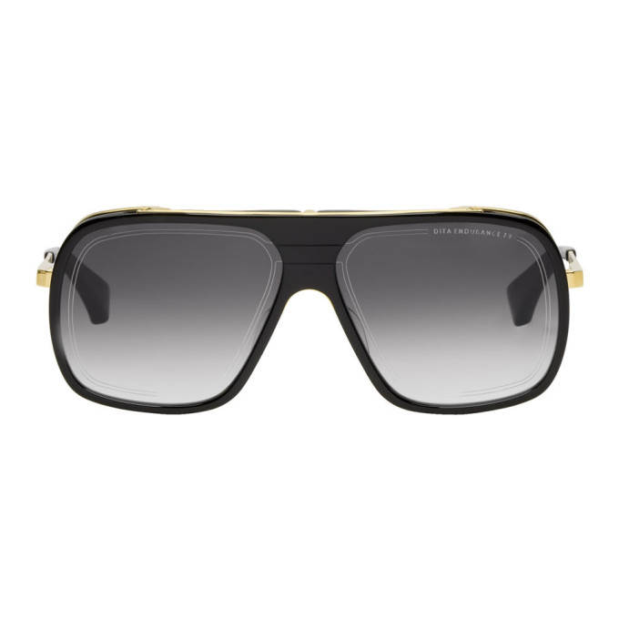 Dita Black & Gold Endurance 79 Sunglasses