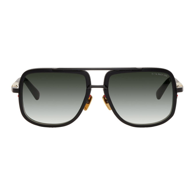 Dita Black Mach-One Sunglasses