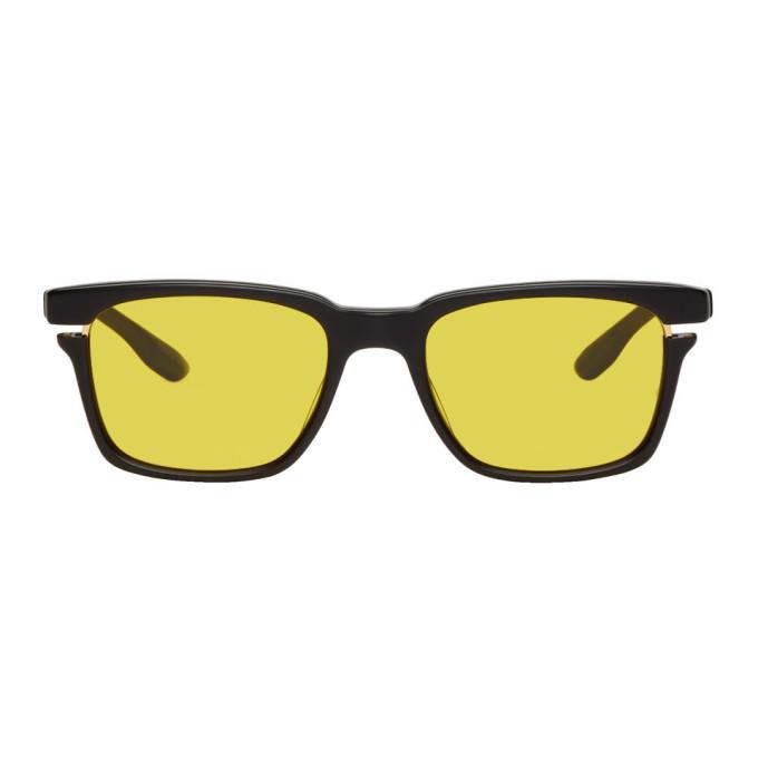 Image of Dita Black & Gold Avec Sunglasses