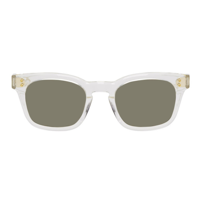 Dita Grey Transparent Mann Sunglasses