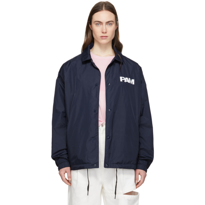 Perks and Mini Blouson bleu marine Alien Morphosis
