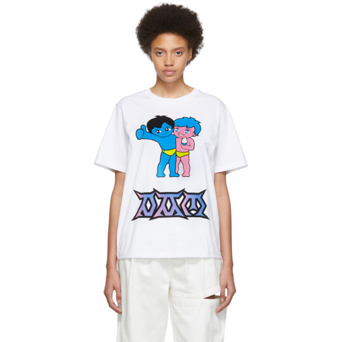 PERKS AND MINI   Perks And Mini White Its Better With Friends T-Shirt   Goxip