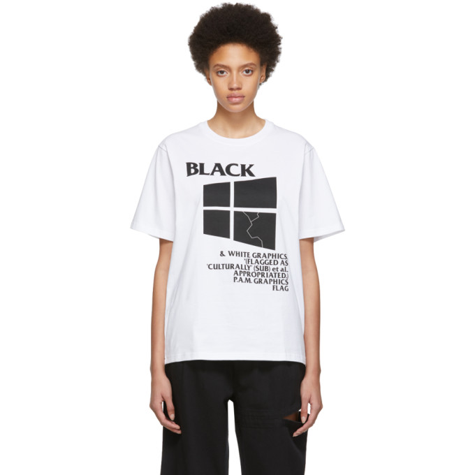 Perks and Mini T-shirt blanc Black Window