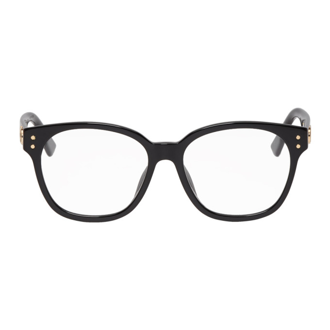 DIOR | Dior Black DiorCD1F Glasses | Goxip
