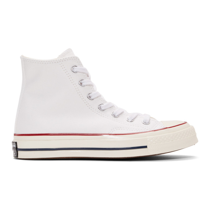 CONVERSE | Converse White Chuck 70 High Top Sneakers | Goxip