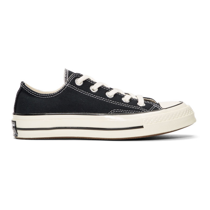 Image of Converse Black Chuck 70 Low Sneakers