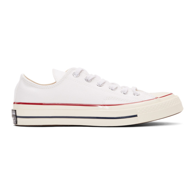 CONVERSE | Converse White Chuck 70 Low Sneakers | Goxip