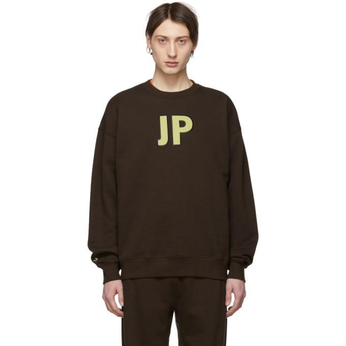 Image of Converse Brown A$AP Nast Edition 'JP' Sweatshirt