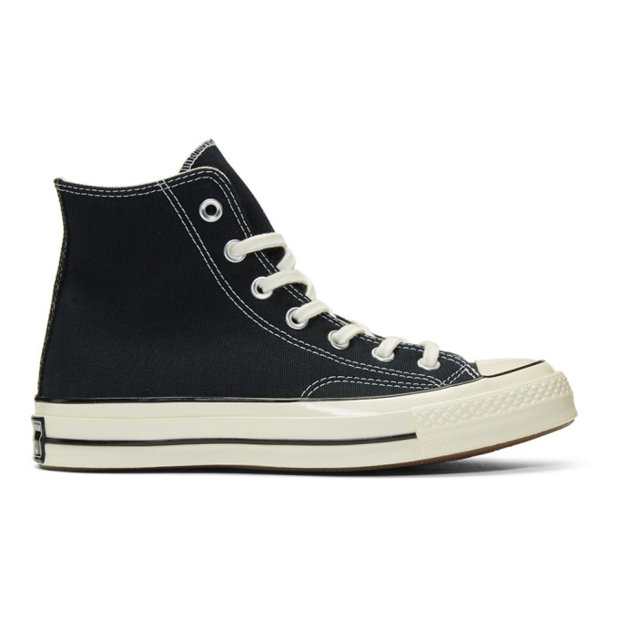 Image of Converse Black Chuck 70 High Sneakers